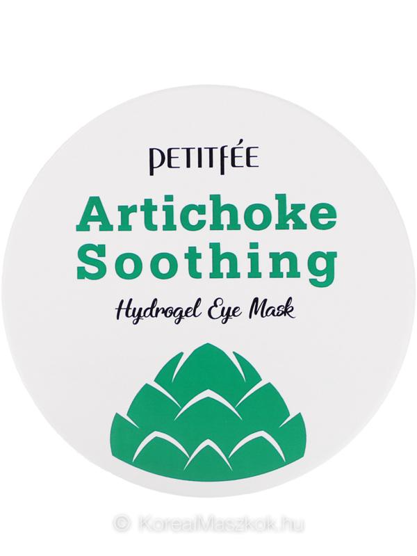 Petitfée Artichoke Soothing Hydrogel Eye Mask bőrnyugtató szemmaszk