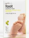 The Face Shop Smile Foot Peeling Mask - hámlasztó lábmaszk