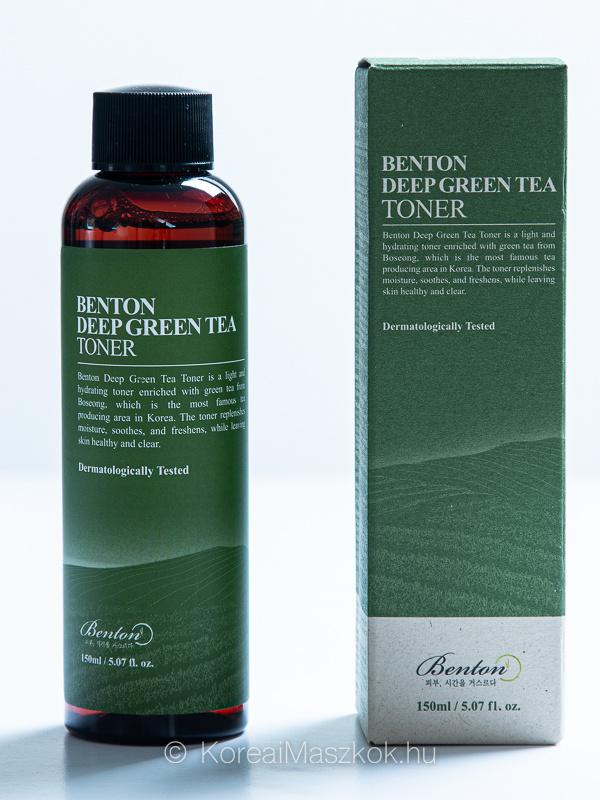 Benton zöld teás toner