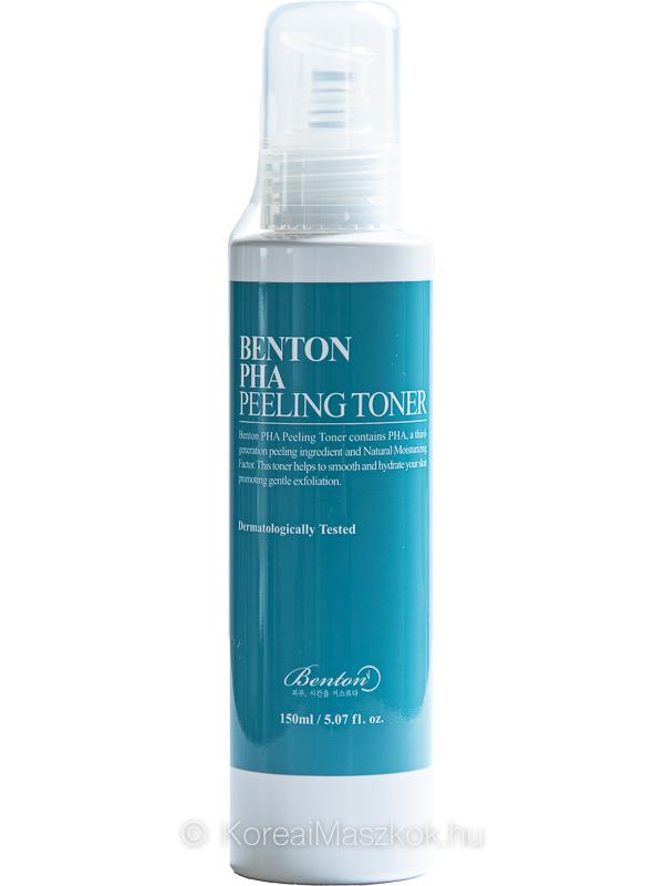 Benton PHA Peeling Toner hámlasztó toner érzékeny bőrre