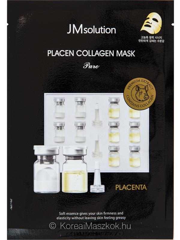JMsolution Placen Mask Collagen feszesítő placentás fátyolmaszk