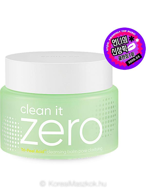 Banila Co Clean It Zero Cleansing Balm Pore Clarifying - pórustisztító balzsam