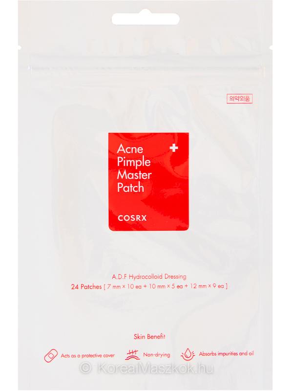 Cosrx Acne Pimple Master Patch akné elleni hidrokolloid tapaszok 24 db