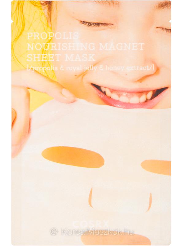 Cosrx Full Fit Propolis Nourishing Magnet Sheet Mask bőrtápláló fátyolmaszk
