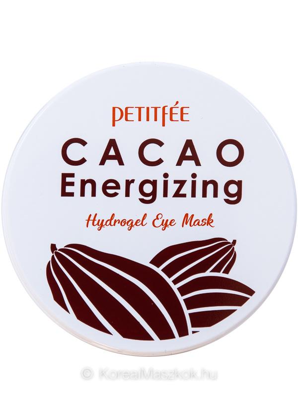 Petitfée Cacao Energizing Hydrogel Eye Mask kakaós hidrogél szemmaszk