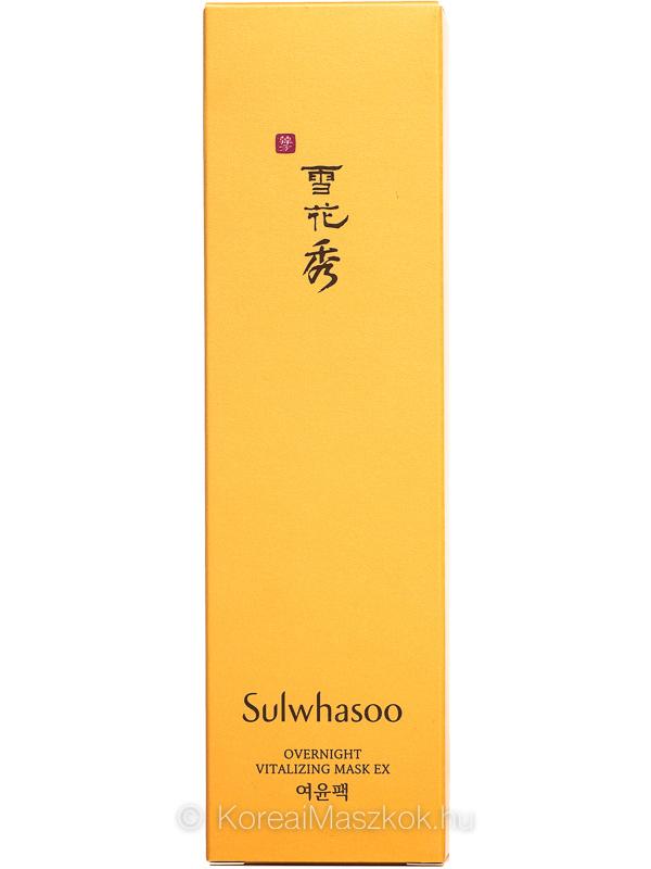 Sulwhasoo Overnight Vitalizing Mask EX doboz
