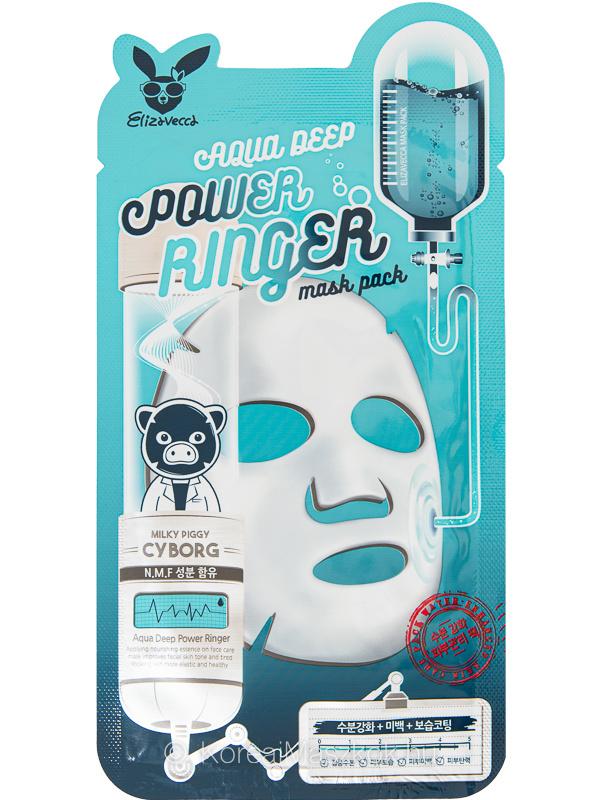 Elizaveca Aqua Deep Power Ringer Mask hidratáló fátyolmaszk