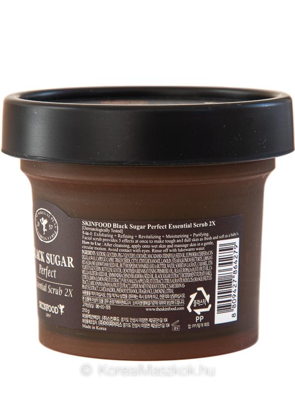 Skinfood Black Sugar 2X bőrradír