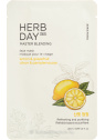 The Face Shop Herb Day 365  Master Blending Lemon & Grapefruit tisztító arcmaszk