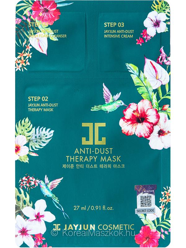 Jayjun Anti-Dust Therapy Mask Set 3-lépéses fátyolmaszk szett