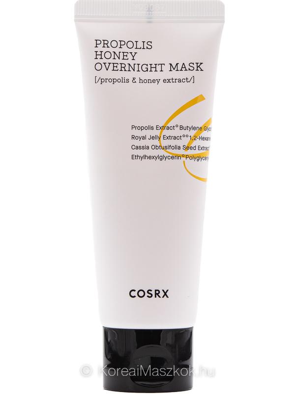 Cosrx Propolis Honey Overnight Mask propoliszos éjszakai maszk