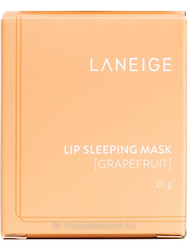 Laneige Lip Sleeping Mask maszk doboz