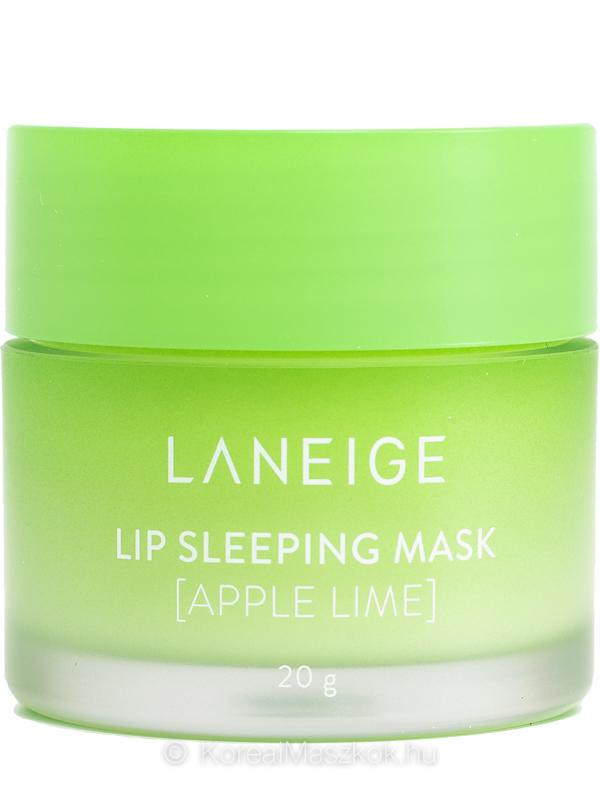 LANEIGE Lip Sleeping Mask Apple Lime - éjszakai ajakápoló maszk alma-lime