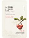 The Face Shop Herb Day 365 Master Blending Acerola & Blueberry - fátyolmaszk