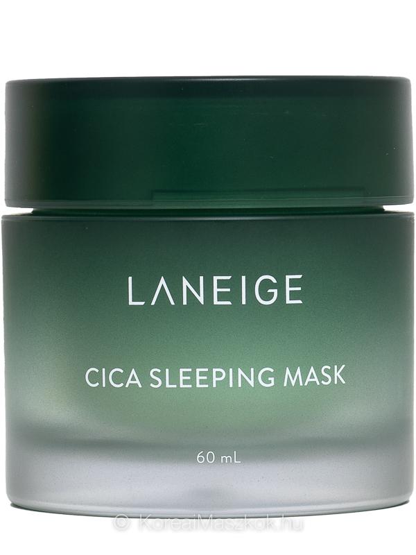 Laneige Cica Sleeping Mask éjszakai hidratáló arcmaszk érzékeny bőrre