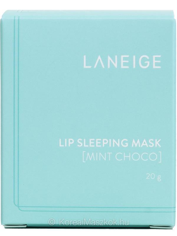 Lip Sleeping Mask Mint Choco doboz