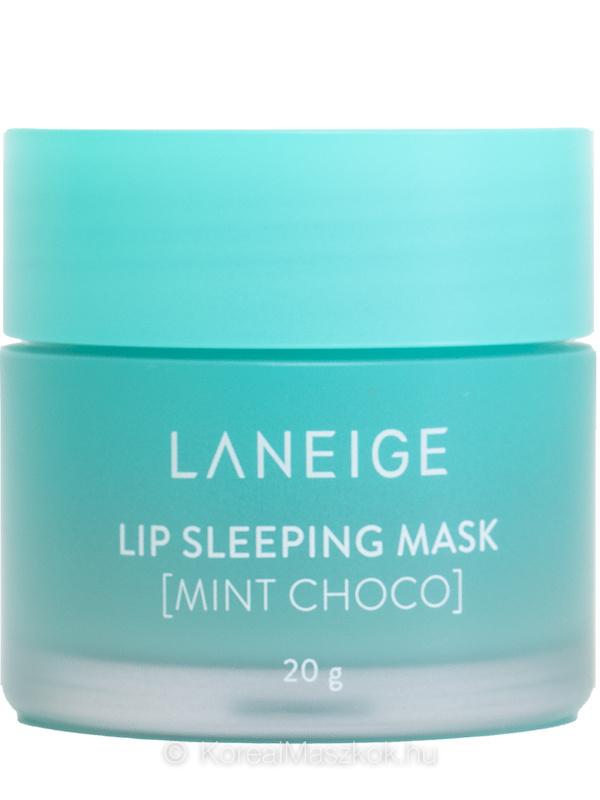 Lip Sleeping Mask Mint Choco - éjszakai ajakápoló maszk mentás csoki