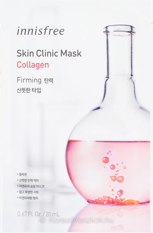 Innisfree Skin Clinic Mask Collagen - kollagén fátyolmaszk