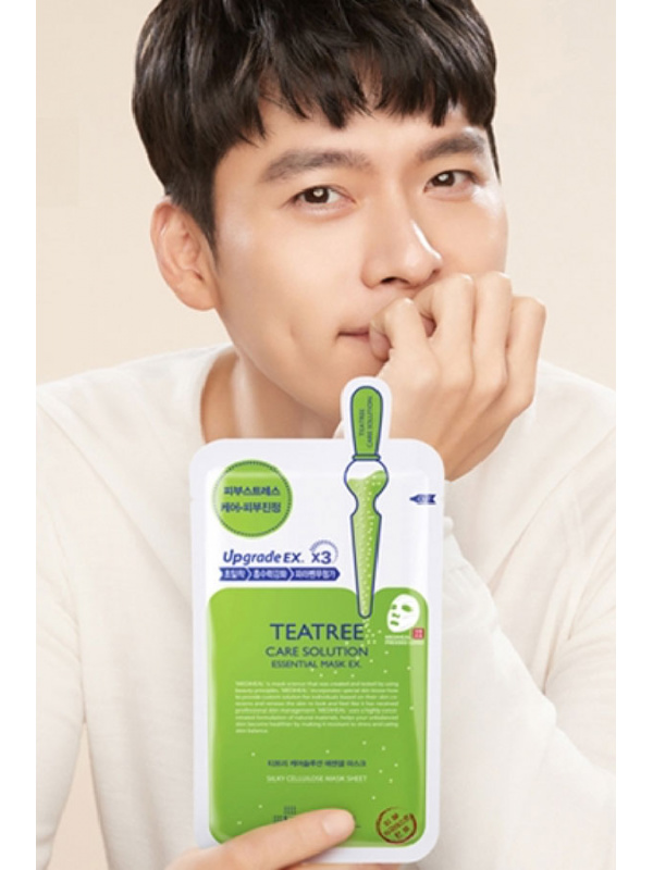 Mediheal Teatree Care Solution fátyolmaszk Hyun Bin