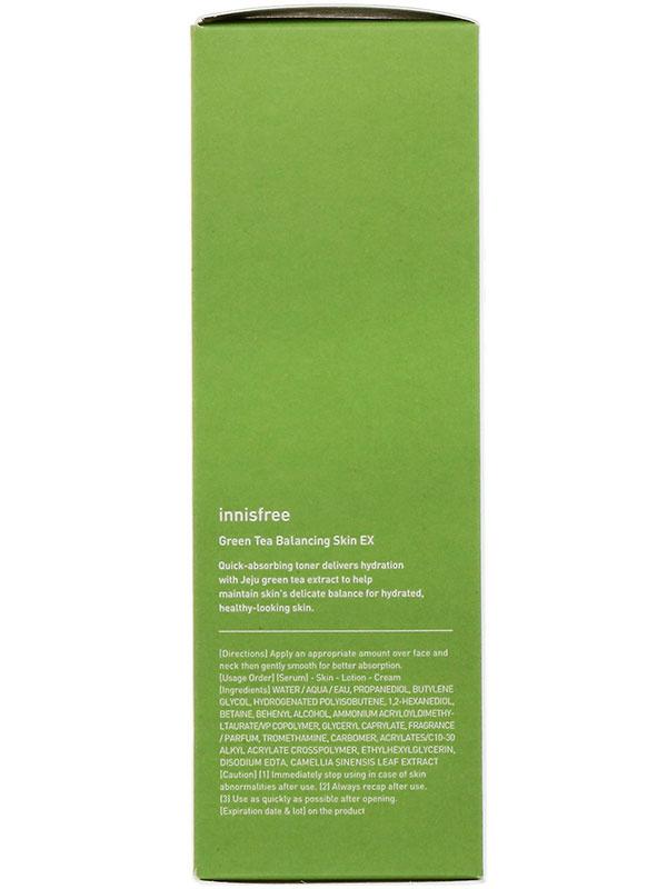 Innisfree zöld tea hidratáló tonik
