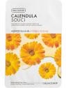 The Face Shop Real Nature Calendula bőrnyugtató és hidratáló fátyolmaszk