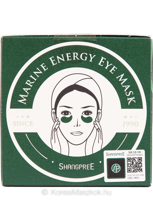 Shangpree Marine Energy Eye Mask energizáló szemmaszk
