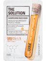 The Face Shop The Solution Nourishing - bőrtápláló fátyolmaszk propolisszal
