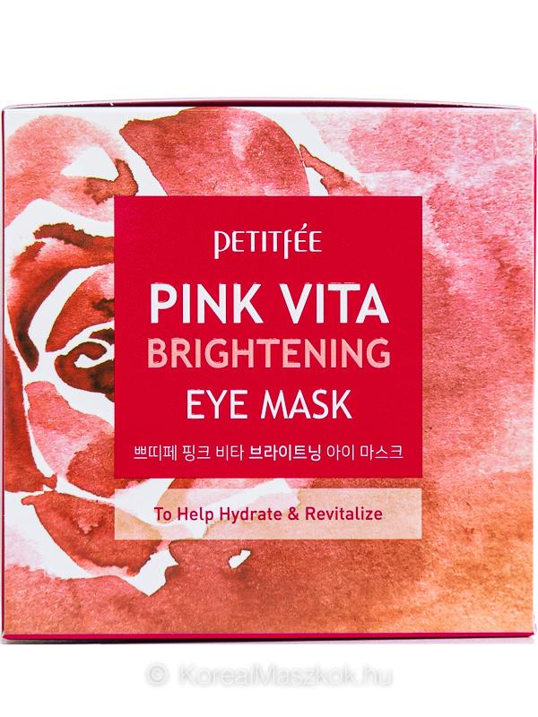 Petitfée bőrvilágosító szemkörnyékápoló tapasz