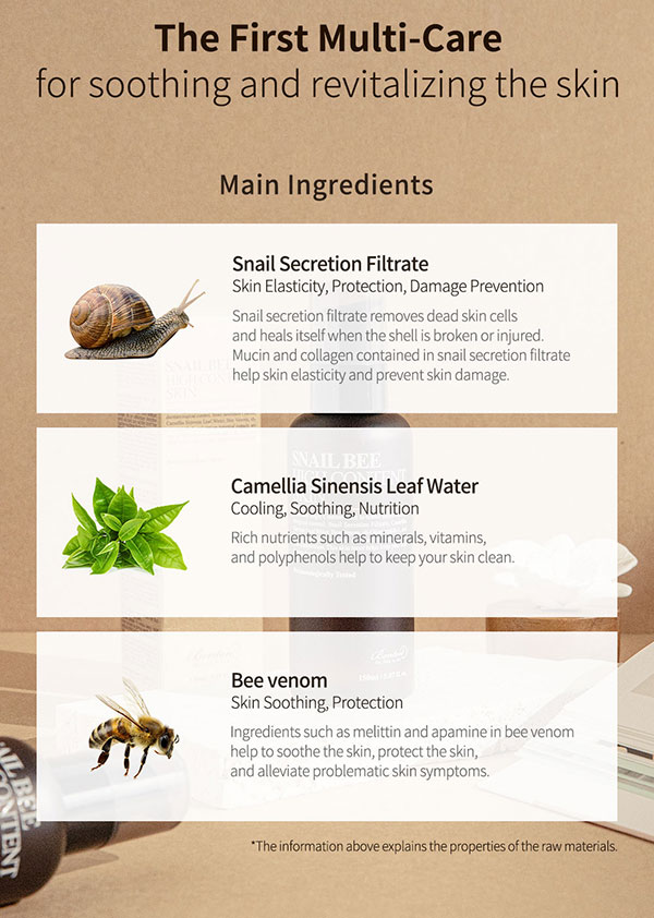 Benton Snail Bee bőrregeneráló toner
