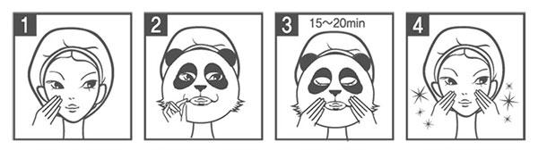 Berrisom állatos karaktermaszkok használata