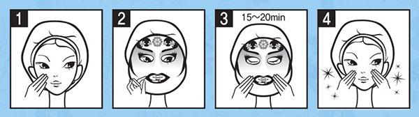 Berrisom Pekingi Opera maszk - királynő