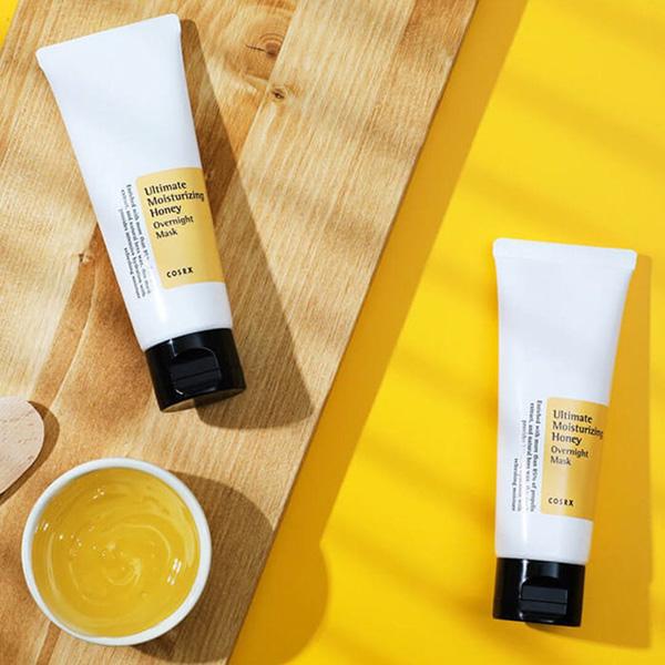 COSRX Ultimate Moisturizing Honey éjszakai maszk