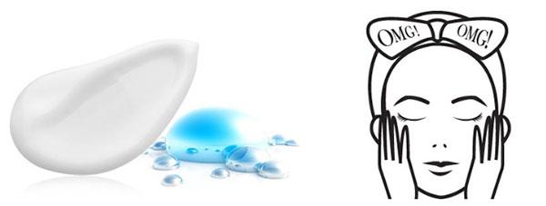 double dare OMG! 4 in 1 Kit Zone System Mask hidratáló krém