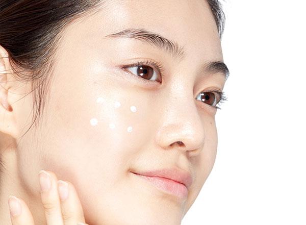 Etude House SoonJung fényvédő felvitele
