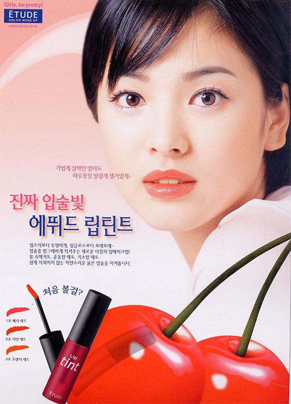 Song Hye Kyo Etude House márkanagykövet