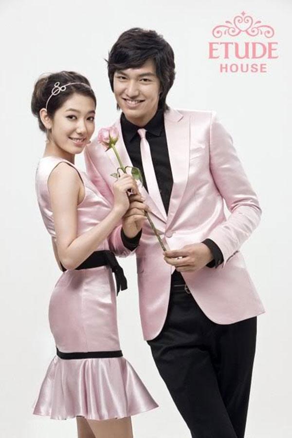Park Shin Hye és Lee Min Ho Etude House kampány