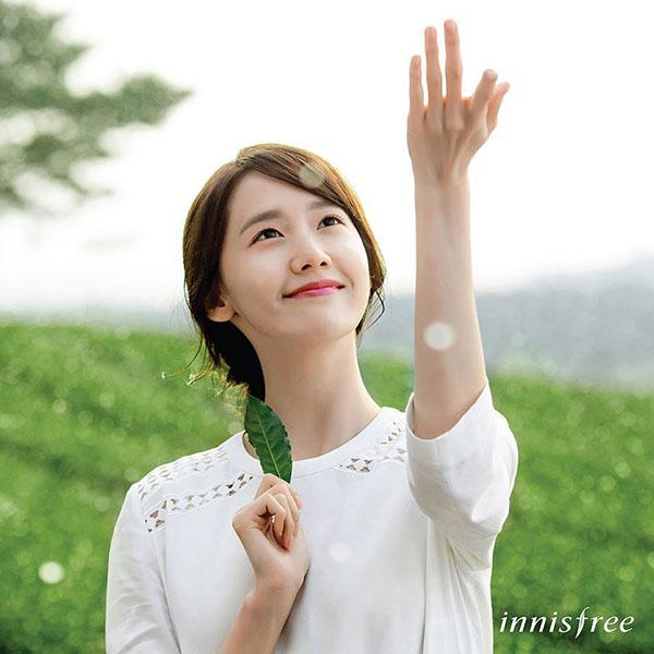 Innisfree ambassador Yoona SNSD