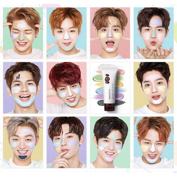 Wanna One Innisfree arcok