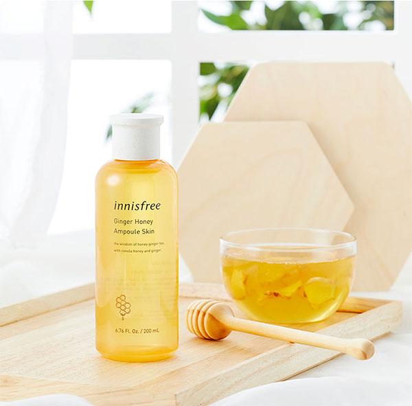 Innisfree Ginger Honey Ampoule Skin mézes-gyömbéres toner
