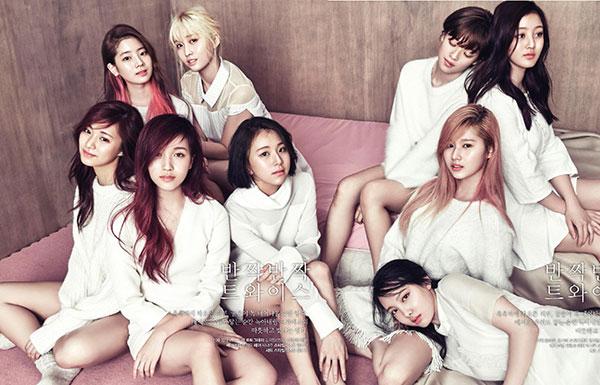 Twice k-pop lány együttes