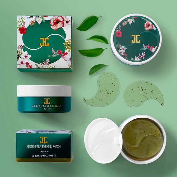 Zöld teás hidratáló szemmaszk