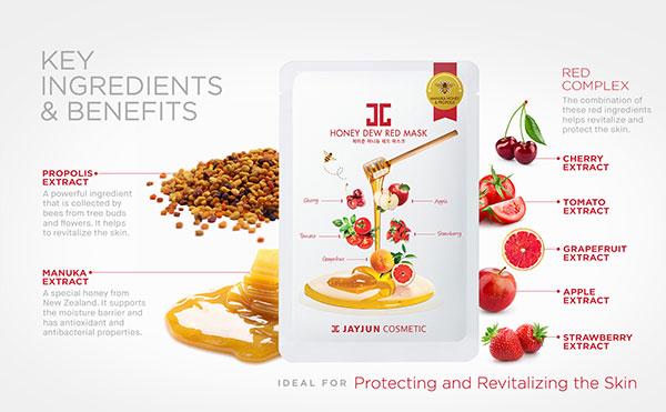 Jayjun Honey Dew revitalizáló fátyolmaszk