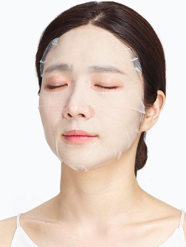 Bőrtápláló Jayjun Okra Green fátyolmaszk okramucinnal