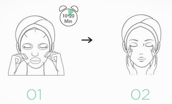 Jayjun Okra Green Mask használata