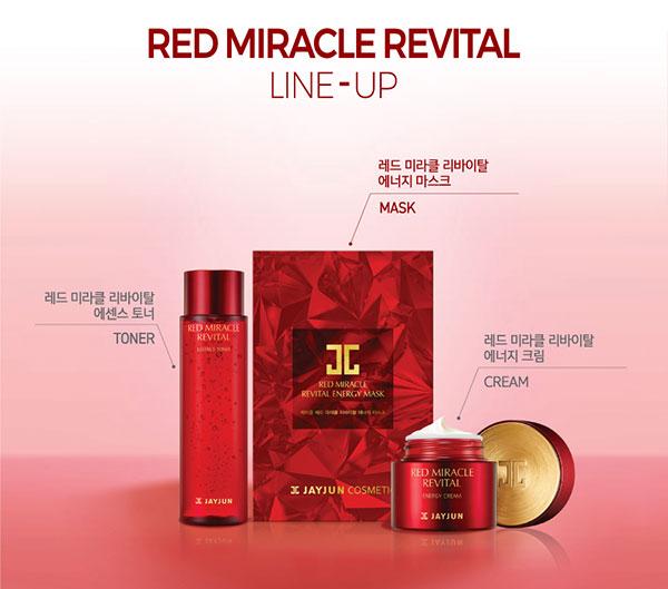 Jayjun Red Miarcle ránctalaító termékcsalád