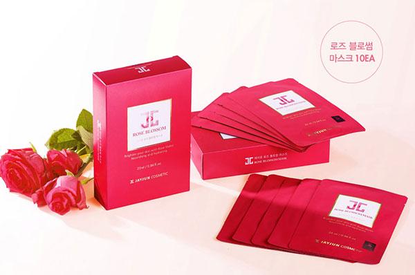 Jayjun Rose Blossom fátyolmaszk
