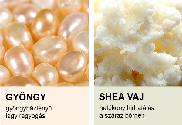 koelf Pearl & Shea Butter szemmaszk fő összetevői
