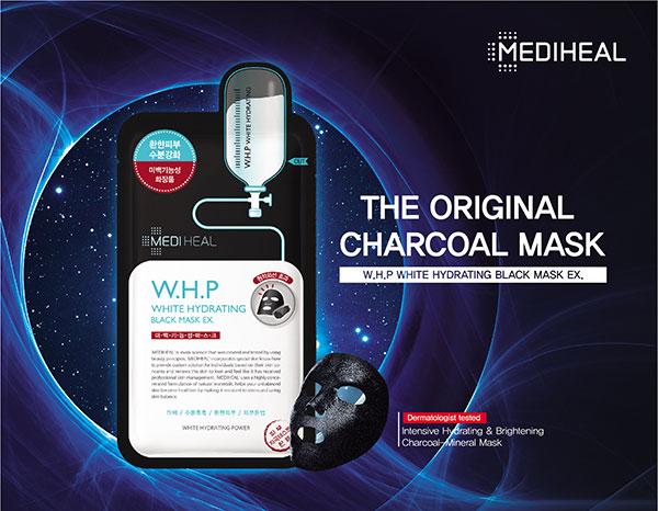 Mediheal W.H.P az eredeti fekete fátyolmaszk