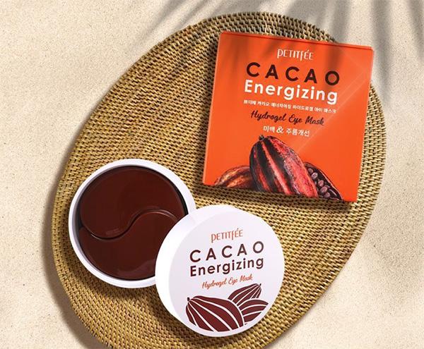 Petitfée energizáló kakaós hidrogél szemmaszkok