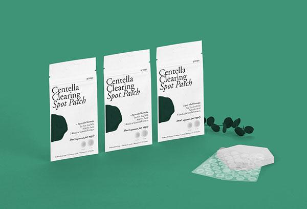 Petitfée Centella Spot Patch hidrokolloid tapaszok